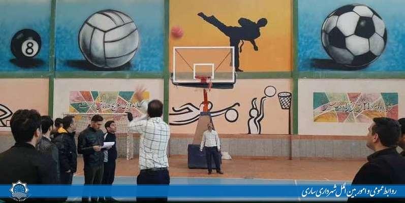جشنواره ورزشی فجر ویژه کارکنان مجموعه شهرداری ساری برگزار شد