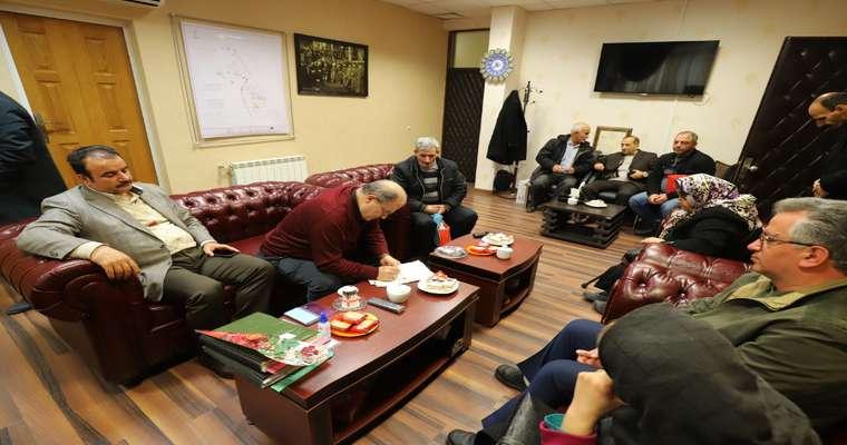 ملاقات عمومی اسماعیل حاجی پور رییس شورای اسلامی شهر رشت