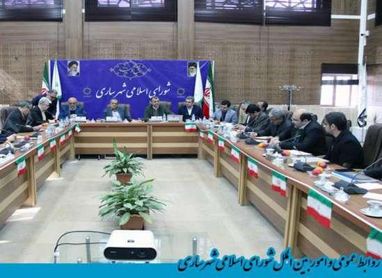 آخرین جلسه کمیسیون برنامه ،بودجه و حقوقی شورای اسلامی شهر ساری برای بررسی لایحه بودجه سال 99 شهرداری