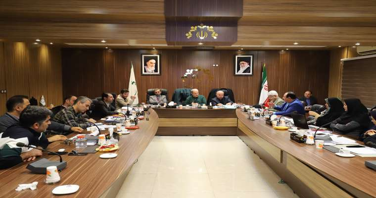 بررسی بودجه پیشنهادی شهرداری رشت در بخش درآمدی در کمیسیون تلفیق