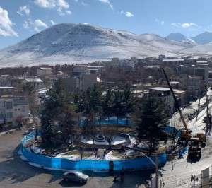 میدان شهید بهشتی عیدی امسال شورای شهر و شهرداری تفرش به شهروندان تفرشی