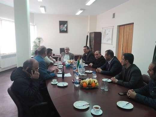 نشست مشترک مدیر عامل شرکت مدیریت منابع آب ایران با مدیرعامل...