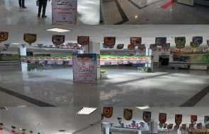 برگزاری نمایشگاه عکس رویدادهای انقلاب در آبفار سبزوار