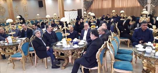 جشن میلاد حضرت زهرا (س) و گرامیداشت روز زن و تجلیل از بانوان همکار آب و فاضلاب استان گیلان