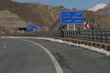 آزادراه تهران-شمال ششم اسفند افتتاح میشود