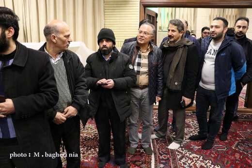 حضور رییس شورا و شهردار تبریز در پای صندوق های رای انتخابات مجلس شورای اسلامی
