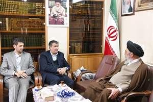 ديدار وزير راه وشهرسازي با آيات عظام مظاهري و طباطبايي نژاد