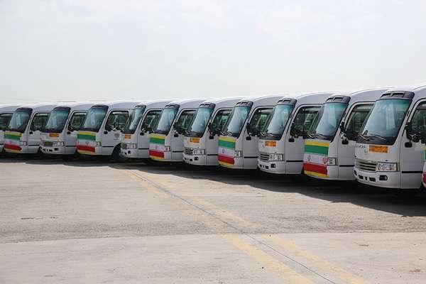 ناوگان اتوبوسرانی شهرداری قزوین در انتخابات مجلس شورای اسلامی آماده باش است
