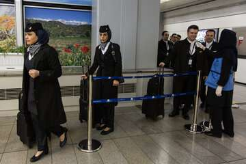 پروازهای عراق بدون مسافران ایرانی انجام میشود