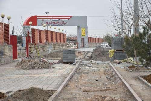 بازسازی ۳ هزارمترمربع از پیاده روهای خیابان مجیدیه در منطقه ۱۲