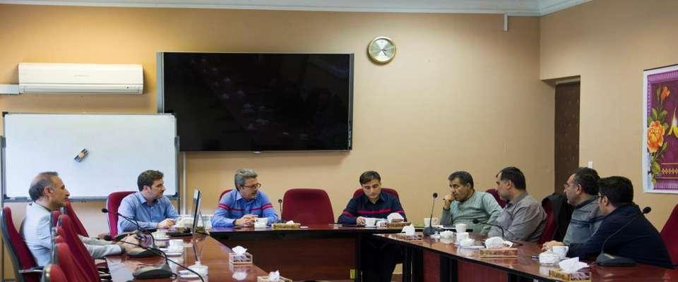تشکیل جلسه شورای ارتقا سلامت و بهداشت نیروگاه بیستون
