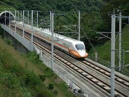 چین یک خط آهن مغناطیسی جدید احداث میکند