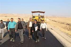 پيشرفت مناسب احداث، بهسازي و آسفالت راههاي روستايي استان ايلام در سال جاري