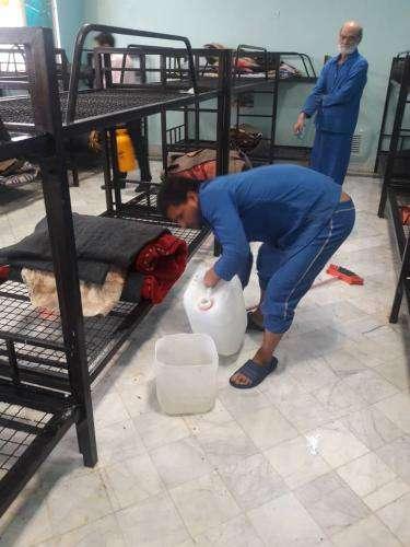ضدعفونی ۶ گرمخانه شهرداری مشهد جهت مقابله با بیماری کرونا