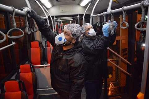 ضدعفونی کردن معابر، سرویسهای بهداشتی و گندزدایی فضاهای عمومی شهر