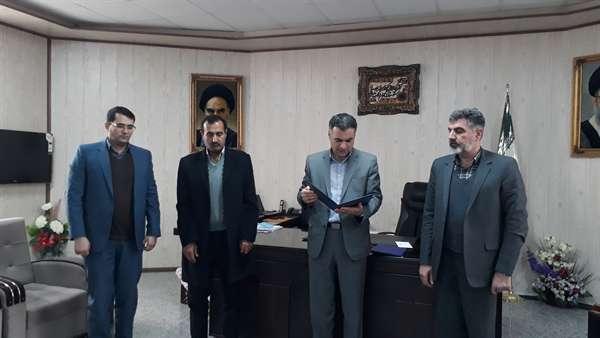 معارفه سرپرست امور آب وفاضلاب شهرستان شاهين دژ