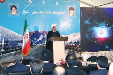روحانی: درآمد سالانه تردد در منطقه یک، برای تکمیل منطقه دو به کار میرود