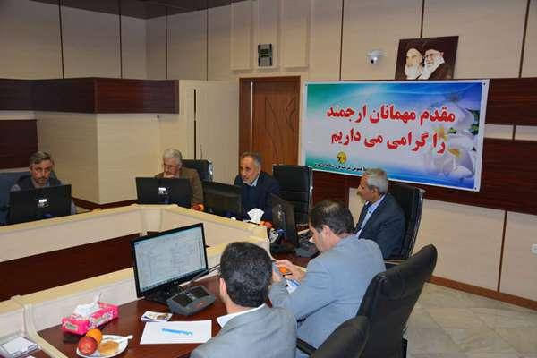 جلسه هماهنگی شرکتهای توزیع استانهای کرمانشاه، کردستان و ایلام در شرکت برق منطقهای غرب