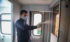 اطمینان خاطر مردم از ضد عفونی بودن قطارهای برونشهری