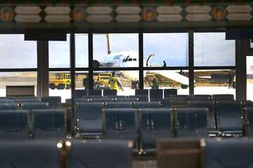 پروازهای بینالمللی فرودگاه پیام تعلیق شد