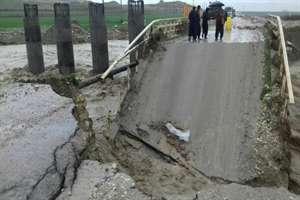 خسارت سنگين سيل به زيرساختهاي بخش راه  و مسكن در استان ايلام