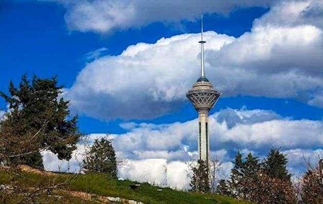 رشد ۳۰ درصدی بارش تهران بالای نرمال/ هوای پایتخت امروز و فردا پاک است