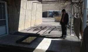 به همت شهرداری تفرش،اقدامات لازم جهت پیشگیری با بیماری کرونا در کشتارگاه   انجام شد.