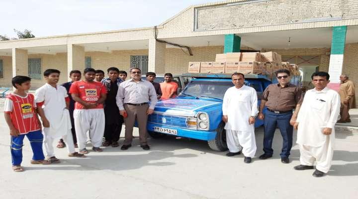 کمک به هموطنان آسیبدیده از سیل استان سیستان و بلوچستان