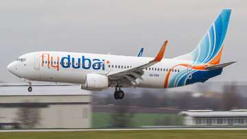 تغییر برنامه پروازی یک شرکت هواپیمایی امارات در ایران