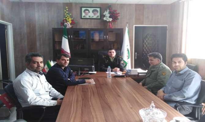 برگزاری نشست مشترک یگان حفاظت محیط زیست فارس با رییس پلیس فتای استان
