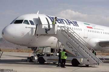 تمامی پروازهای فرودگاه رامسر تا ۱۲ اسفند لغو شد