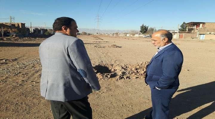 شهردار زرند خبرداد :5/2هكتار فضای سبز در شهرك امام علی اكبر اباد ایجاد خواهد شد .