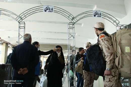 مورد مشکوک به کرونا در غربالگری پایانه مسافربری تبریز وجود نداشته است