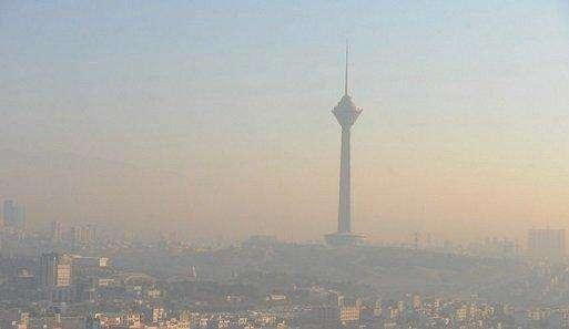 علت آلودگی هوای تهران طی روزهای اخیر