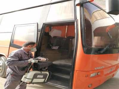 ناوگان پایانههای مسافربری شهرداری قزوین روزانه ضدعفونی می شود
