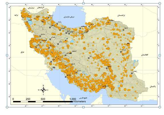 واکاوی دلایل لرزهخیزی ایران در یکسال گذشته
