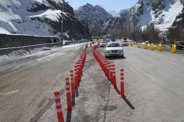 بارش برف در جادههای شمالی کشور ادامه دارد