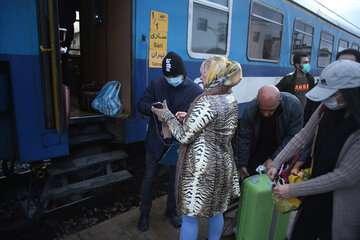 کرونا به ایستگاه راه آهن شمال  رسید