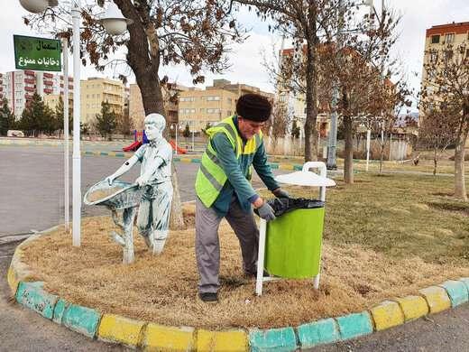 ساماندهی پارکهای منطقه۴ در آستانه سال جدید