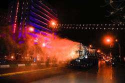 طرح ضدعفونی خیابانهای شیراز آغاز شد