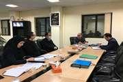 جلسه هیأت نمایندگی با حضور مهندس نژاد صفوی، مدیر کل راه و شهرسازی استان سه شنبه 13 اسفند 98