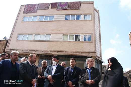 بازدید اعضای شورای شهر از مسیرگشایی «علی بقال»