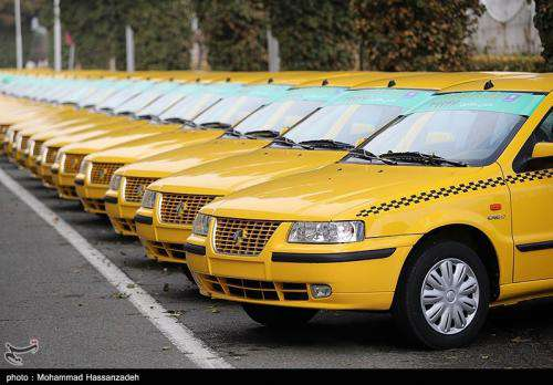 تعدادی تاکسی سمندef۷ به صورت نقدی آماده واگذاری به متقاضیان است