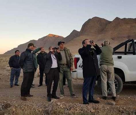 بازدید استاندار مرکزی ازمناطق حفاظت شده این استان