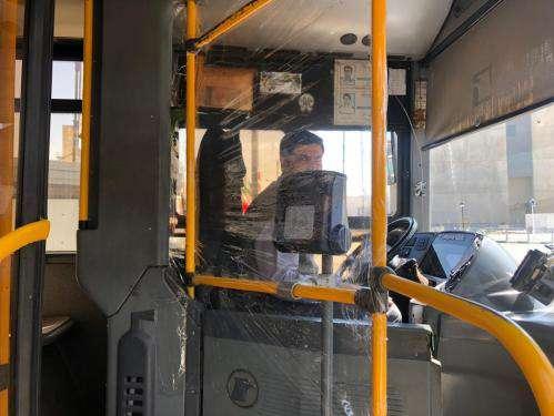 فضای کابین اتوبوسران ها محصور شد
