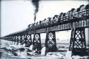 پل ریلی کارون؛ طولانیترین پل خاورمیانه در ۱۳۰۸