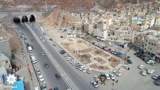 اجرای بوستان محله آخر خیابان شهید رجائی (یوسف آباد)