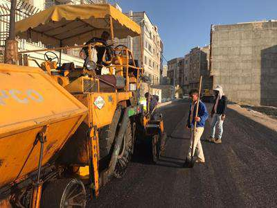 عملیات روکش مکانیکی آسفالت در ناصرآباد ادامه دارد