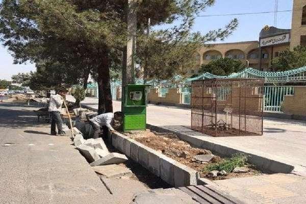 40 متر از معابر ناحیه شهری شهیدبابایی جدول گذاری شد