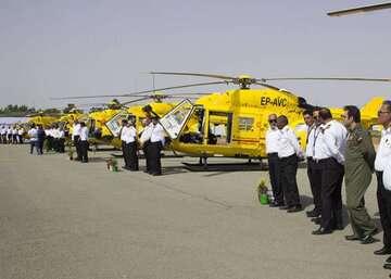 آمادگی فرودگاه پیام برای خدمات هوایی به بیماران کرونایی